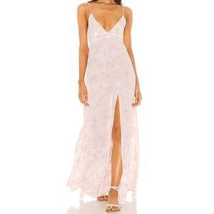 Day Dream Dress in Mauve White Smoke